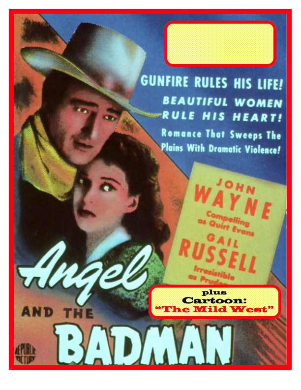 Angel and Badman Poster