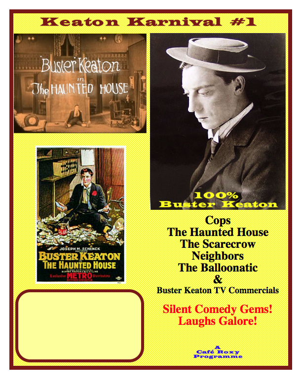 Buster Keaton Poster #1