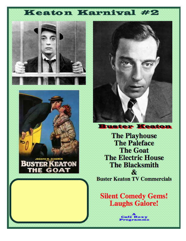 Buster Keaton Poster #2