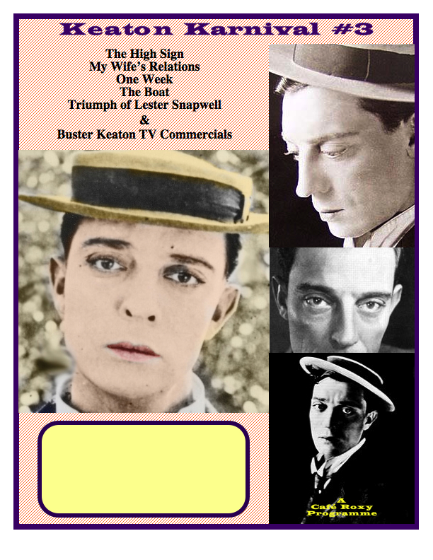 Buster Keaton Poster #3
