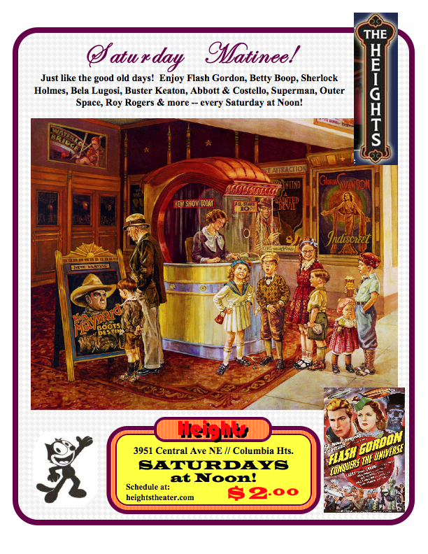 Generic Matinee Poster