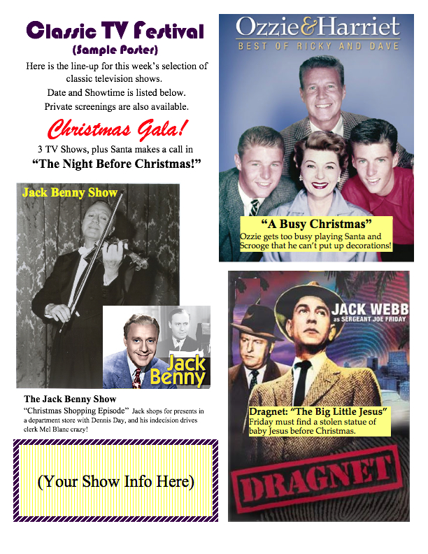 christmas poster 4 - Best Christmas Shows