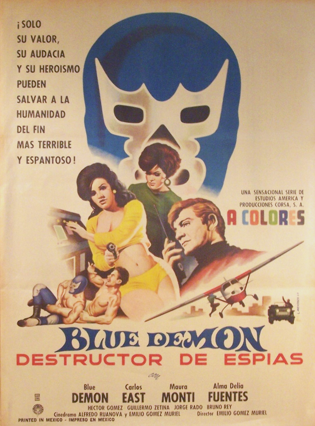 Mexican Horror One-Sheet