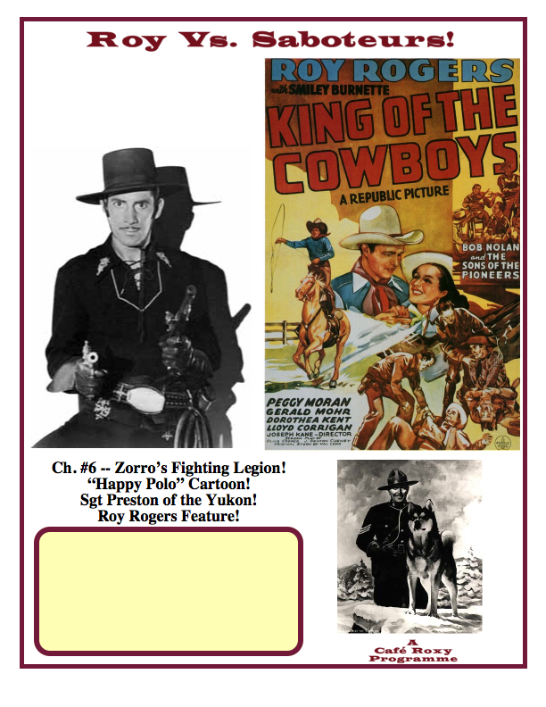King of Cowboys Poster