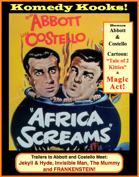 Africa Screams Poster