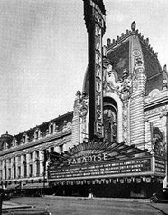 Paradise Theater Poster