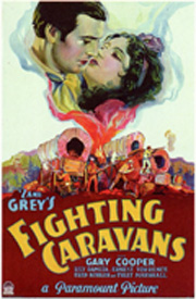 Fighting Caravans Poster