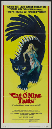 Cat o Nine Tails Poster