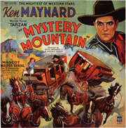 Mystery Mountain Serial Poster