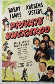 Private Buckaroo (1942) Starring: Andrew Sisters, Maxene Andrews