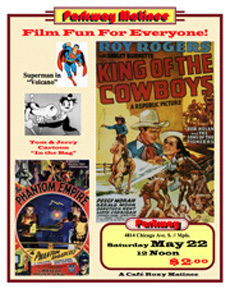Roy Rogers Matinee Poster
