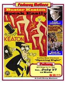 Speak Easily Matinee Poster