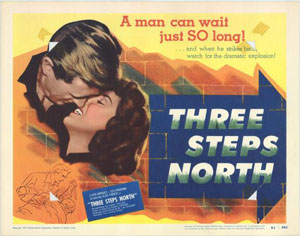 Three Steps North Poster
